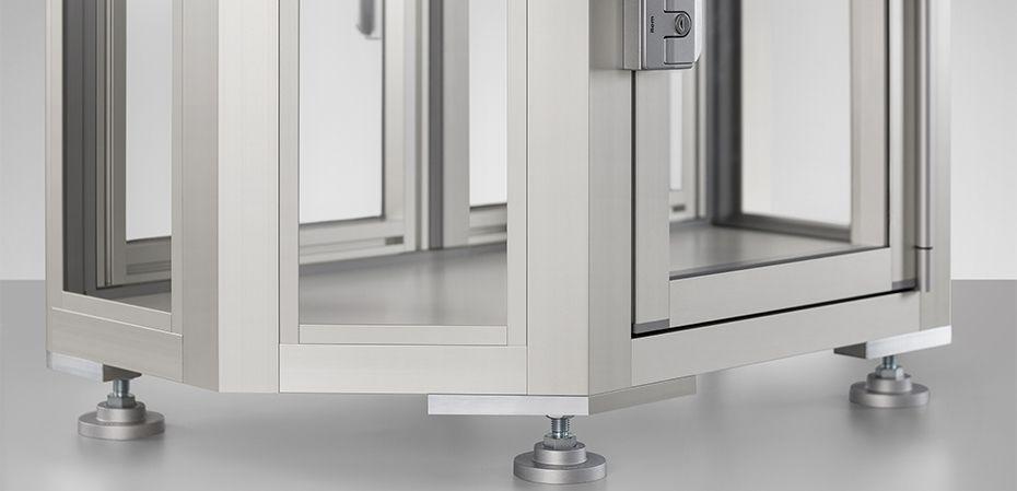 Schutz & Trennwände - item Industrietechnik GmbH
